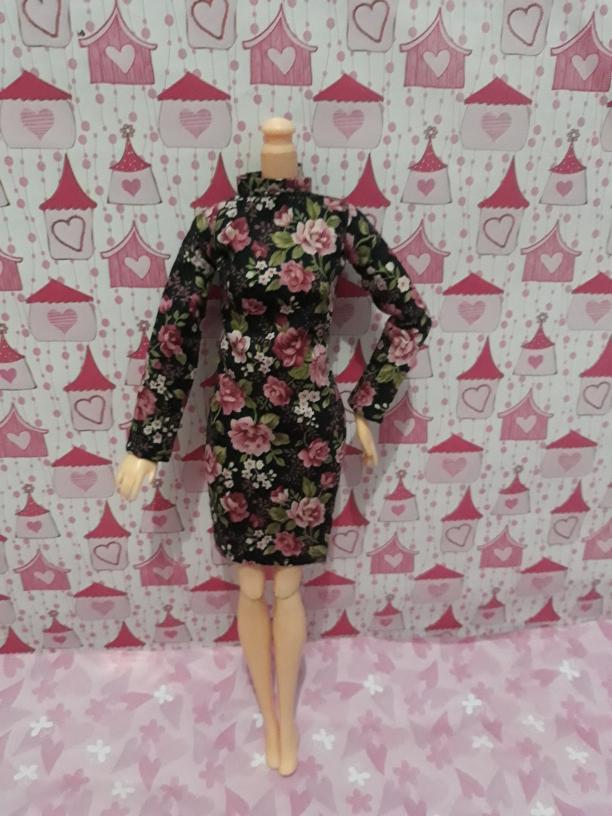 58 Model Baju Barbie Bunga Terlihat Keren