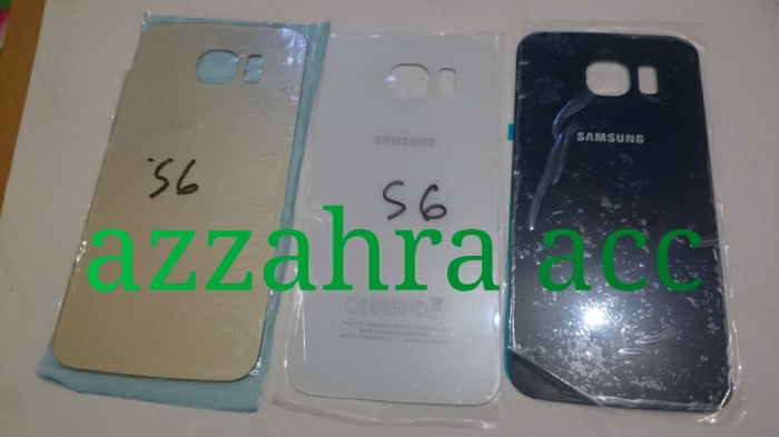 Samsung galaxy s6 s6 flat backcover tutup baterai backdoor original