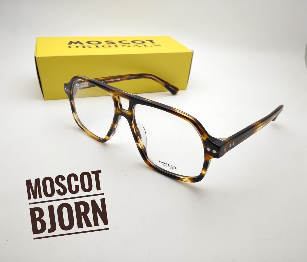 Jual Kacamata Frame Moscot Bjorn Blonde Vintage Jadul Cari Eh127 Magic  Vision 3 In 1 Ask d6721c24ed