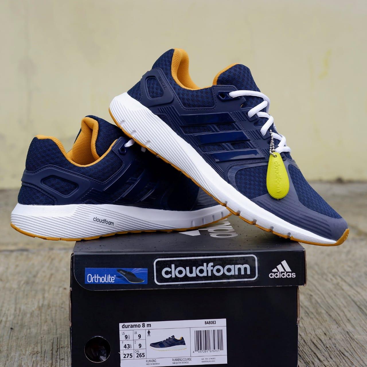 Jual Sepatu Lari Adidas Duramo 8 M Navy 100% Original BNIB! - Toko Adidas f35428ec7f