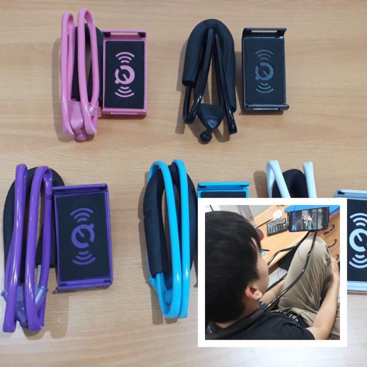 Jual Lazy Neck Holder Hp Di Leher Hanging Lazypod Handphone Happy Cellular Tokopedia