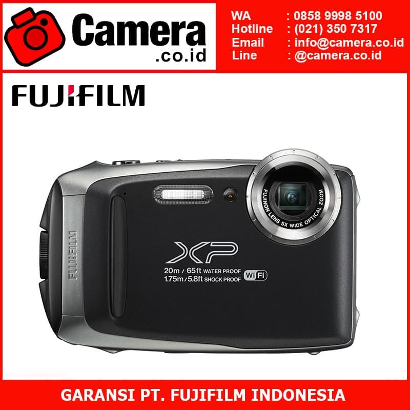 harga Fujifilm Finepix Xp - 130 (dark Silver) Blanja.com
