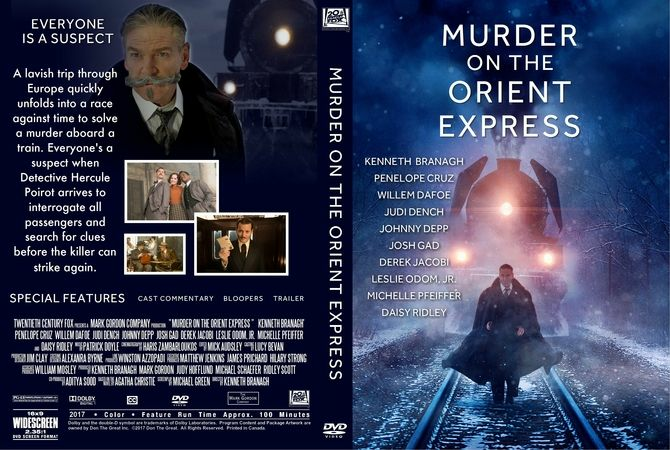 Jual Murder On The Orient Express 2017 M Collector Tokopedia