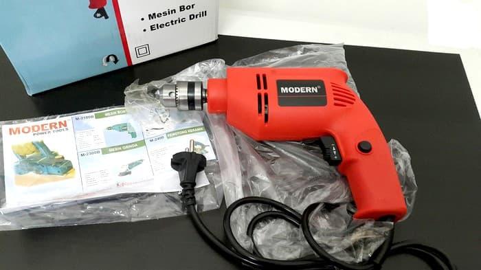 ... Mesin Bor Modern 2100c + Mata Bor Set & Tool Kit Kenmaster + Skrup - Blanja ...