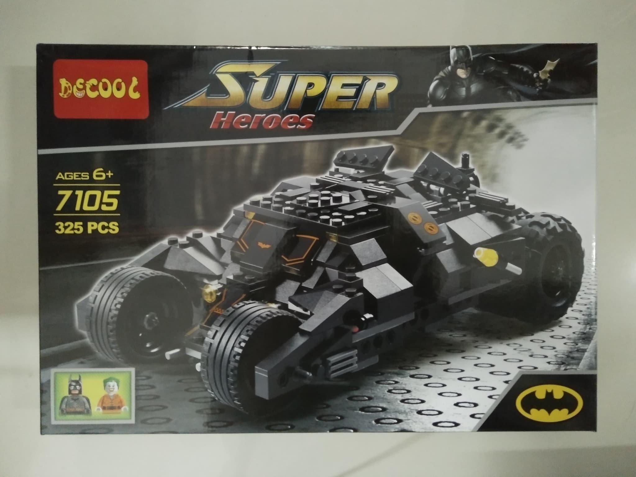 3d718ca5bd12 Clearance Sale Jual Lego Batman Tumbler