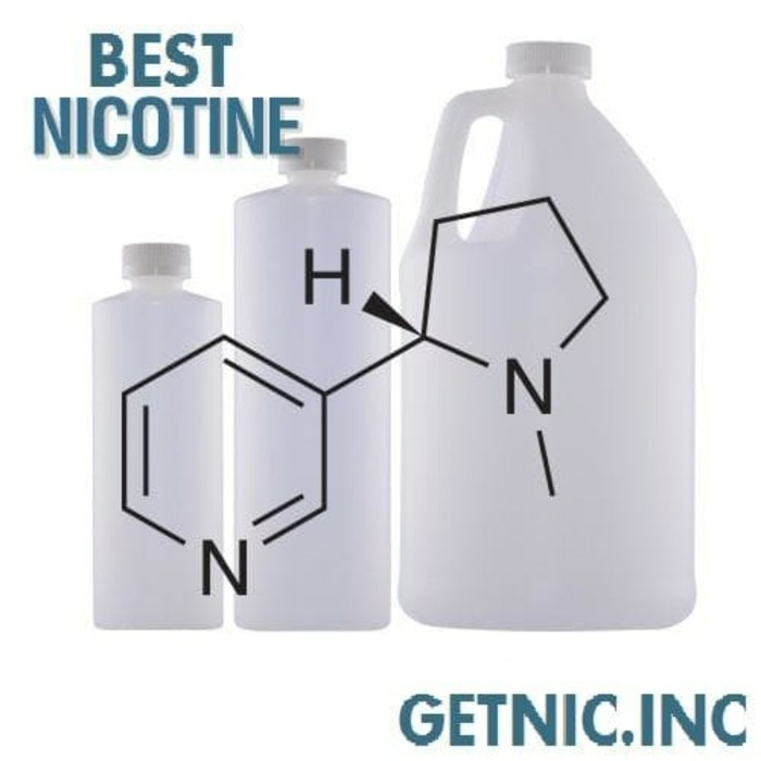 Jual Nicotine Dekang with TH 100mg capacity 50ml, DIY e-liquid - Getnic inc  | Tokopedia