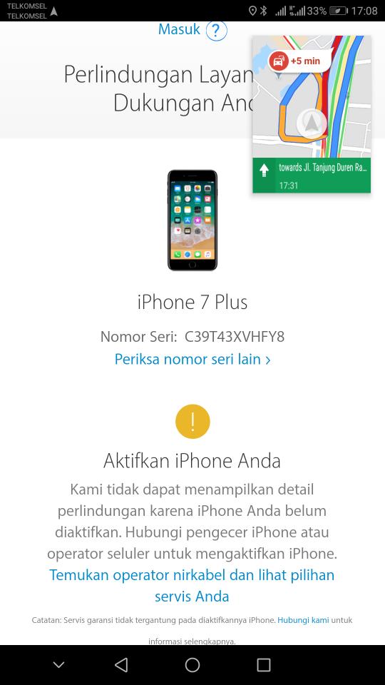 Jual Iphone 7 Plus Iphone 7 Baru Garansi Resmi Ibox  1a2d2d4795