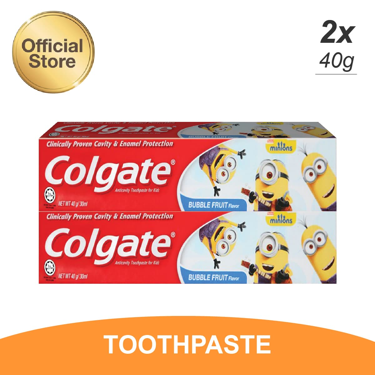 Jual Produk Colgate Palmolive Official Online Termurah Showergel Morninf Tonic 450ml Kids Minions Toothpaste Pasta Gigi 40gr Twin Pack