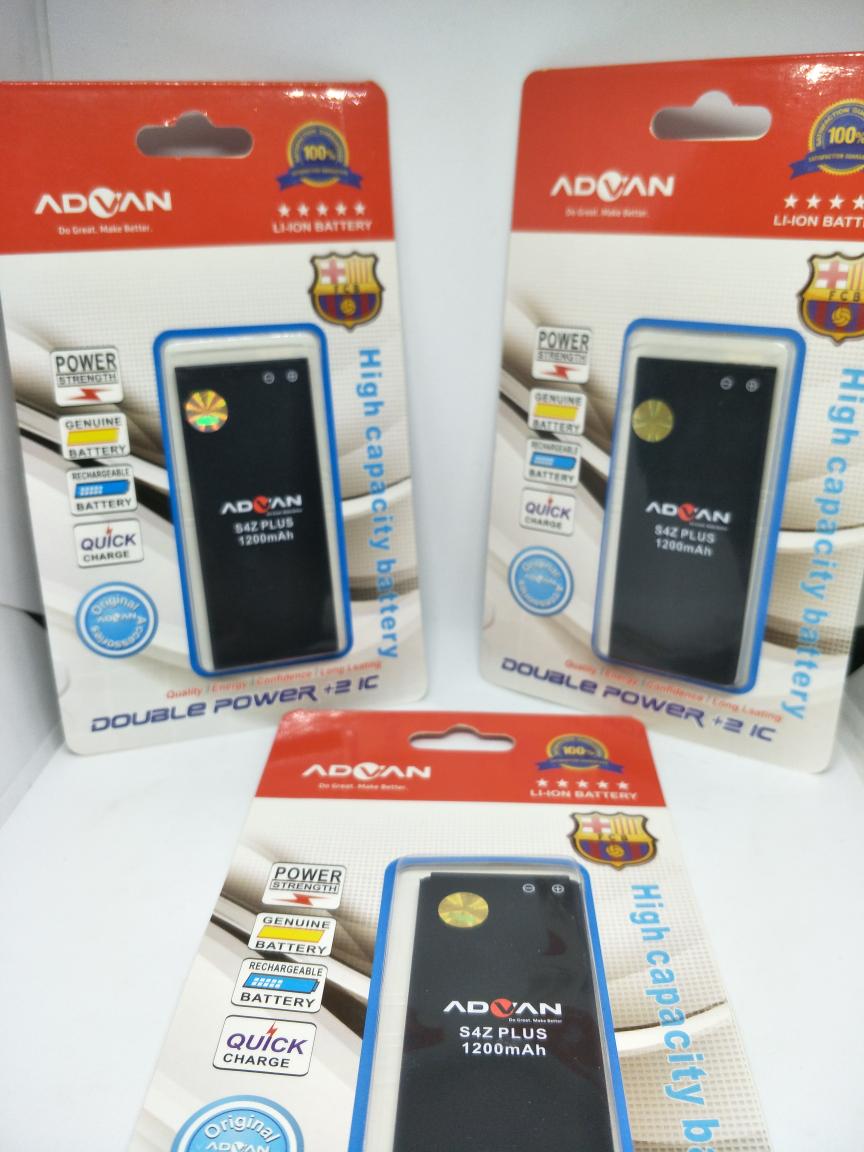 Jual Baterai Merk Advan S4z Plus Double Power 2 Ic E Poy Market Tokopedia