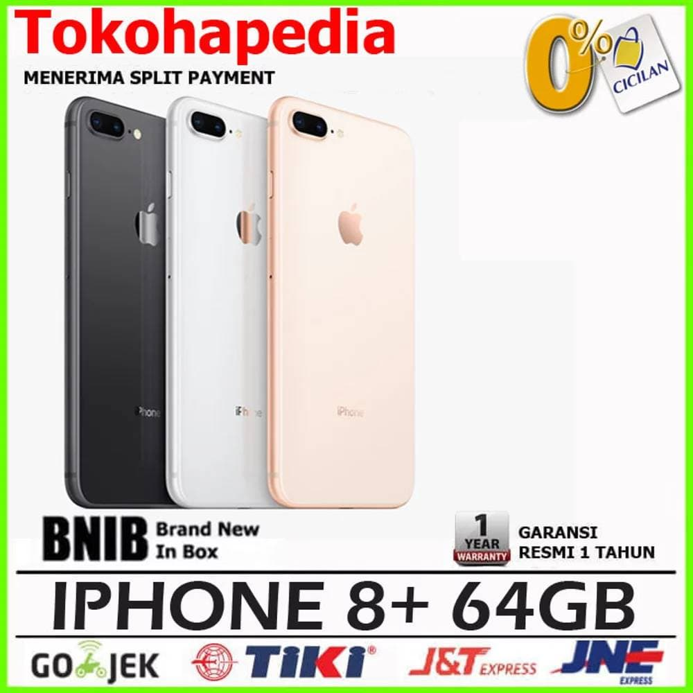 Jual Garansi Resmi Iphone 8 Plus 64gb 64 Gb Gold Silver Black 5 1 Tahun