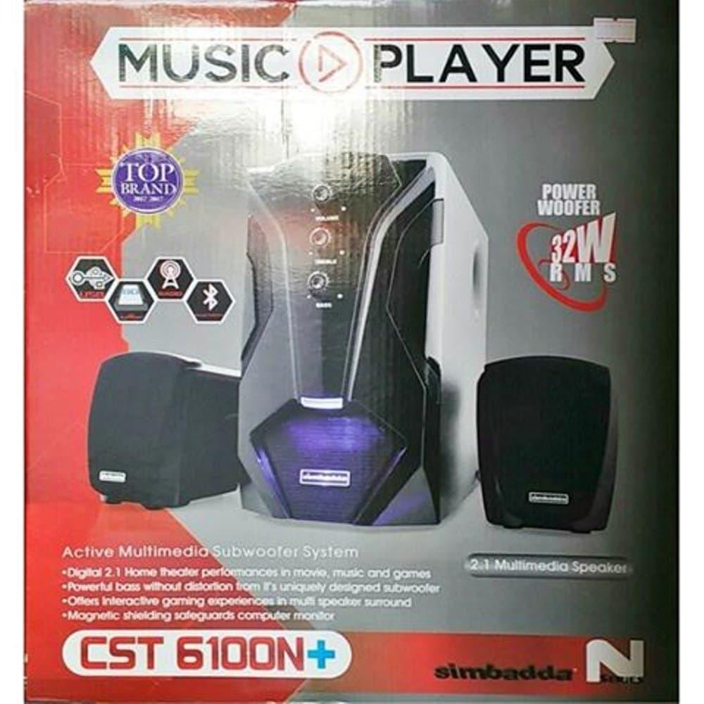 harga Speaker Simbadda Cst6100n Plus Blanja.com