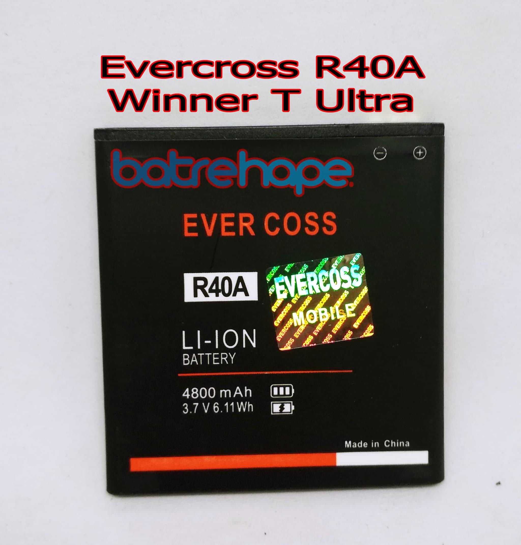 harga Baterai Battery Cross R40a Evercross Winner T Ultra R - 40a R 40a Blanja.com