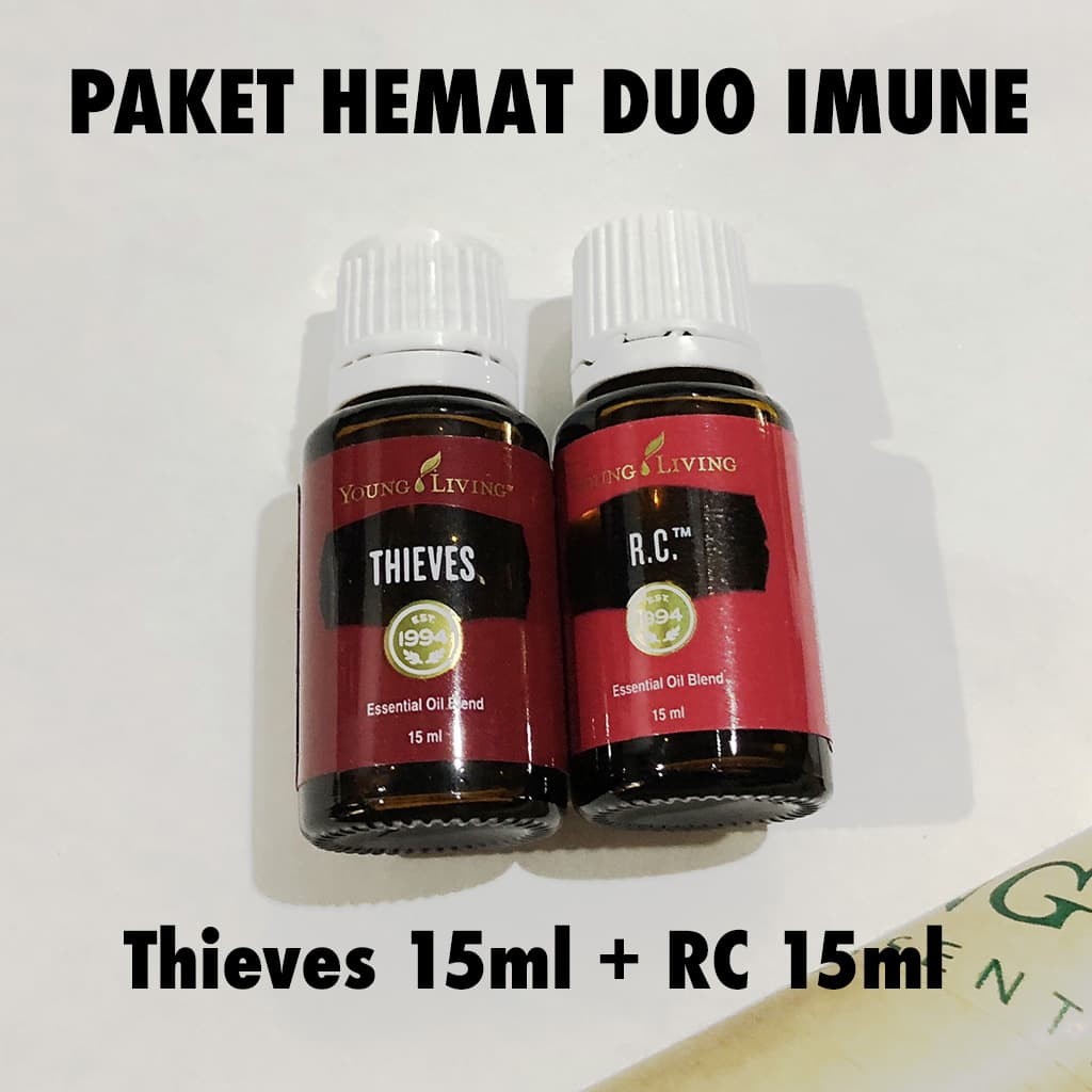 Jual Paket Thieves 15ml Rc Original Sealed Young Living Hemat Yl Thiev Essential Life Tokopedia