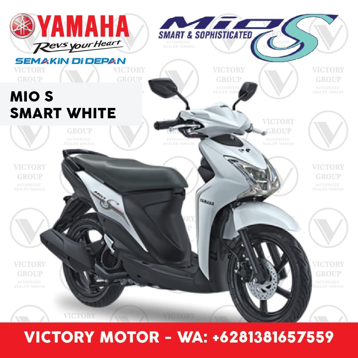 Jual Yamaha Mio S White Putih Jkt Bntn Victory Motor Xabre Sepeda Otr Jakarta Ampamp Tangerang Tokopedia