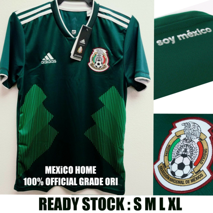 24b5fbd49ce Jual Jersey Mexico Home Piala Dunia Worldcup 2018 grade ori official ...