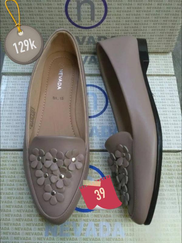 Jual sepatu sandal brand matahari nevada flat shoes wanita slip on ... e236aa8f62