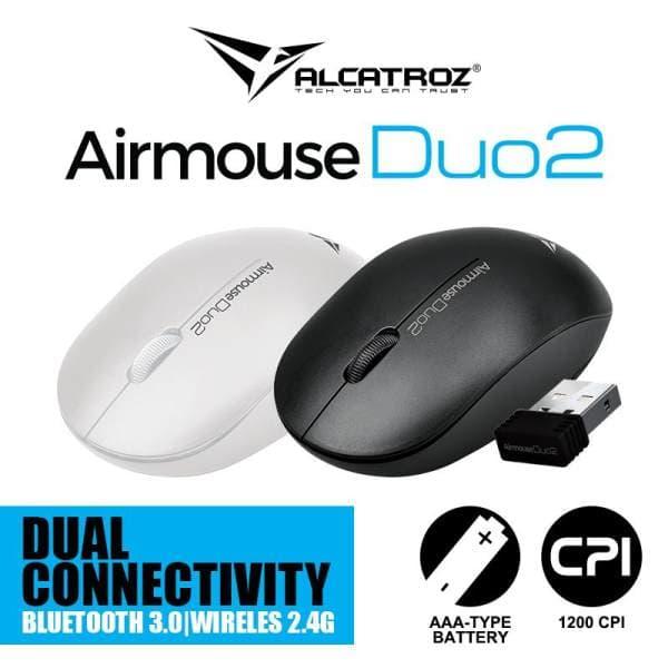 Mouse USB Wireless dan Bluetooth Alcatroz