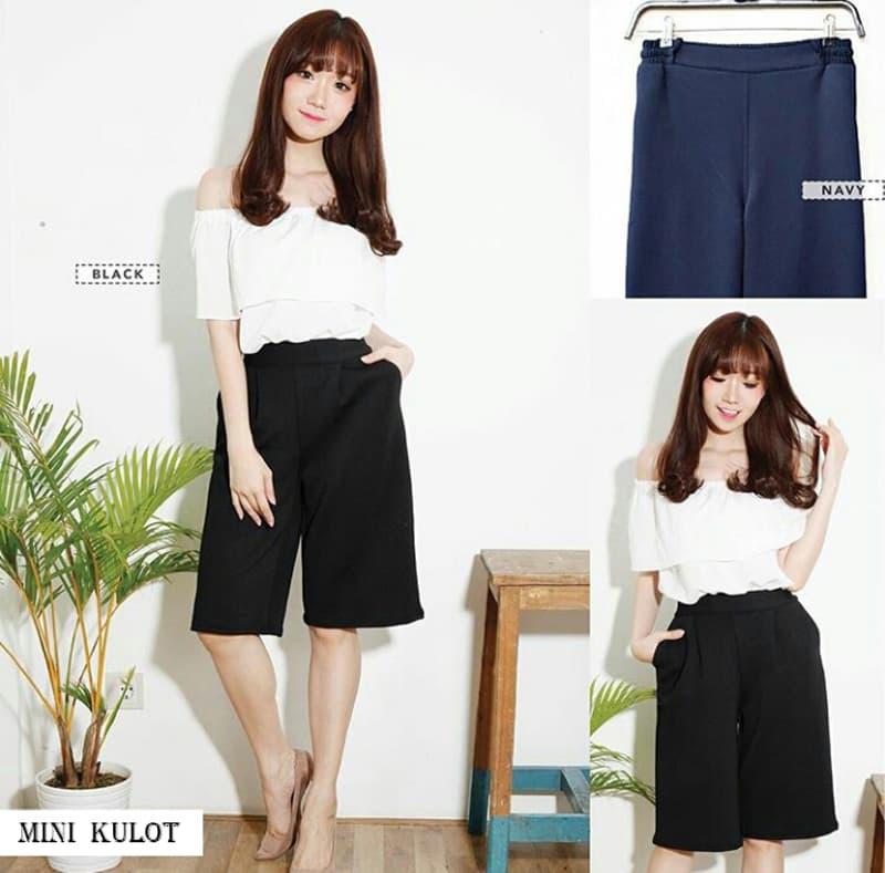 Mini Cullote - Celana Pendek Wanita Kulot Pendek - Blanja.com