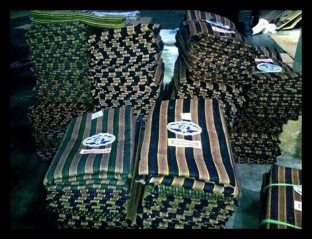 MURAH Baju + Celana + Blangkon + Surjan Lurik Anak L 349bf8831b