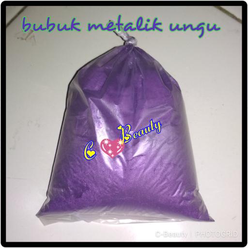 Bubuk Metalik Violet 100gram Murah thumbnail