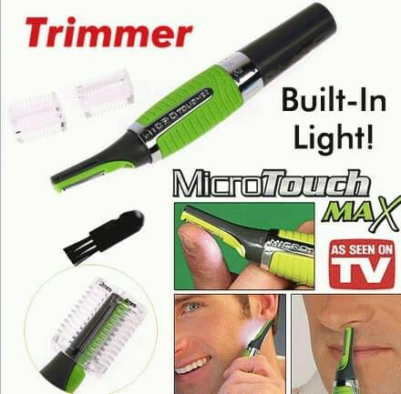 Jual Micro Touch Max Alat Pisau Cukur Kumis Bulu Rambut Lampu ... 356907839a