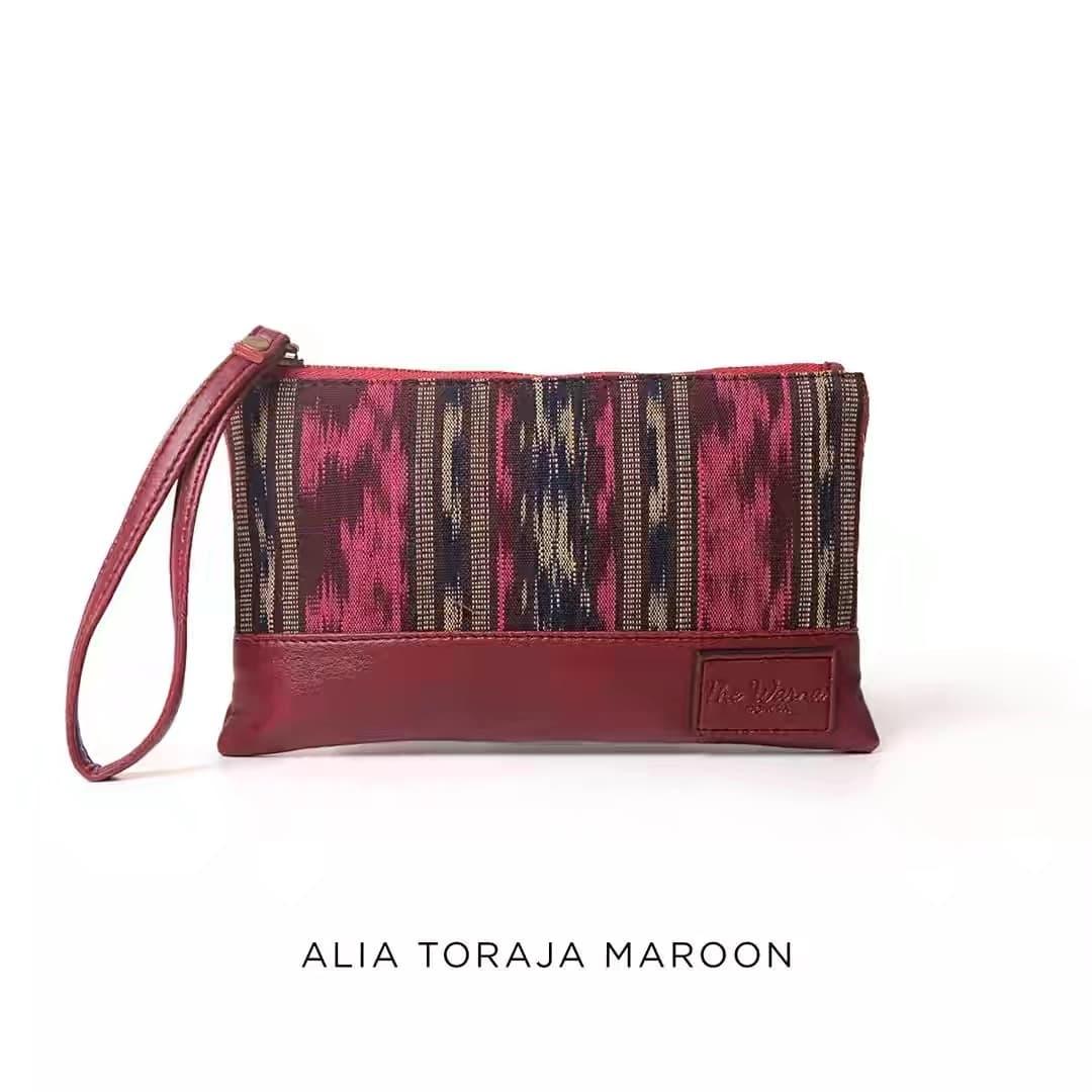 harga Dompet Batik Alia Toraja The Warna Original Blanja.com
