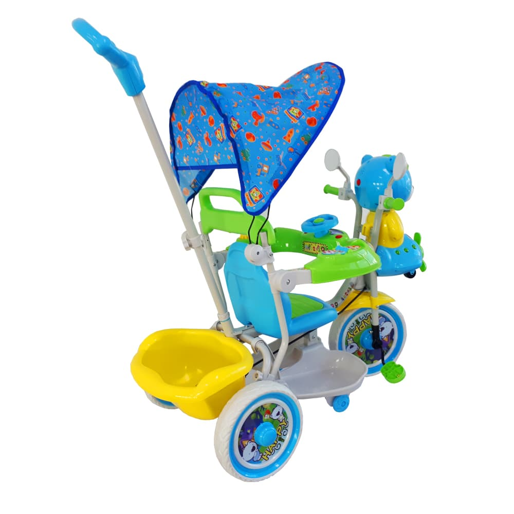 Jual Sepeda Roda Tiga Mainan Anak T08 Biru Hijau Ocean Toy Motor Atv Edukasi Oct7013