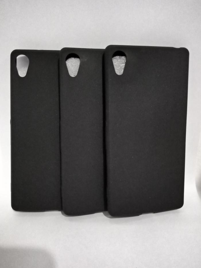 Case Sony Xperia Z3 - Softcase SILICON THIN Doff BLACK MATTE Xperia Z3