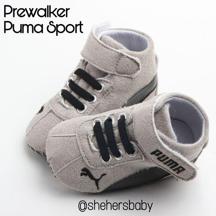 Jual Prewalker bayi Sport Puma Sepatu Bayi Sport Grey - A3 Family ... 5b875587d8