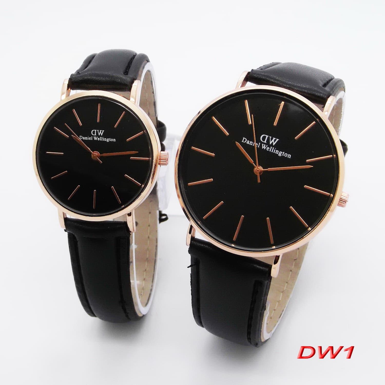 Couple Watches Unique Korean Style Analog Watch Cowo Cewe Jam Tangan ... 1b059731e6