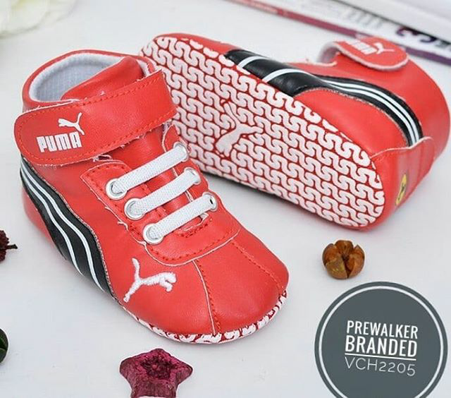 Jual Prewalker Sport Puma Red Sepatu Bayi Sport Import - Kid Baby ... 1b257c6f20