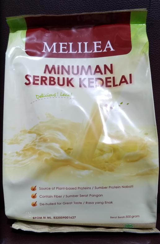 Susu soya kedelai organik Melilea