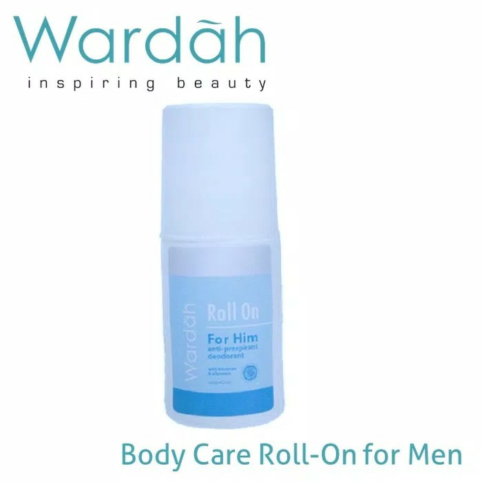 Wardah roll on for him 60ml
