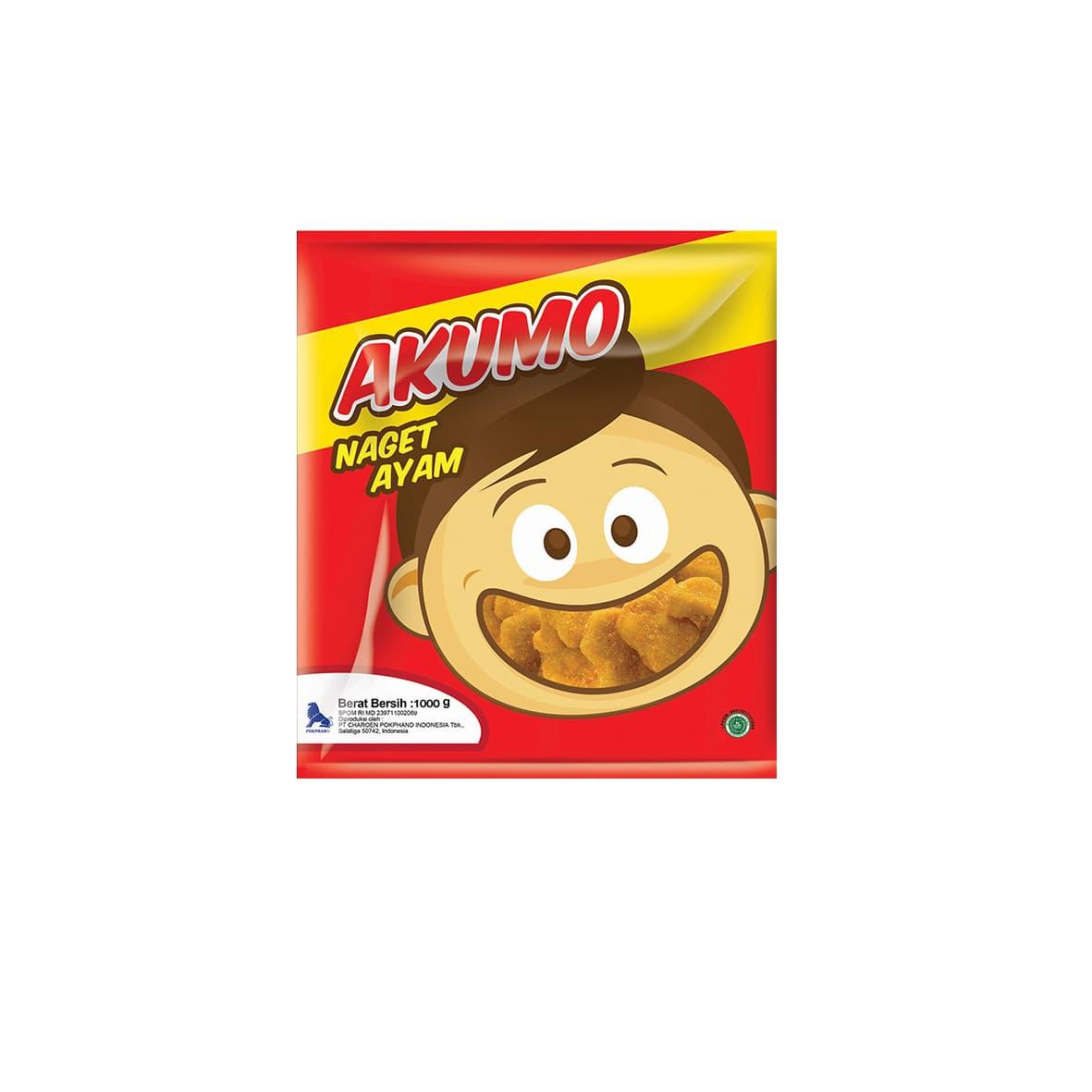 Akumo Paket Chicken Naget Makanan Instant 1 Kg (3 Pcs) - Blanja.com