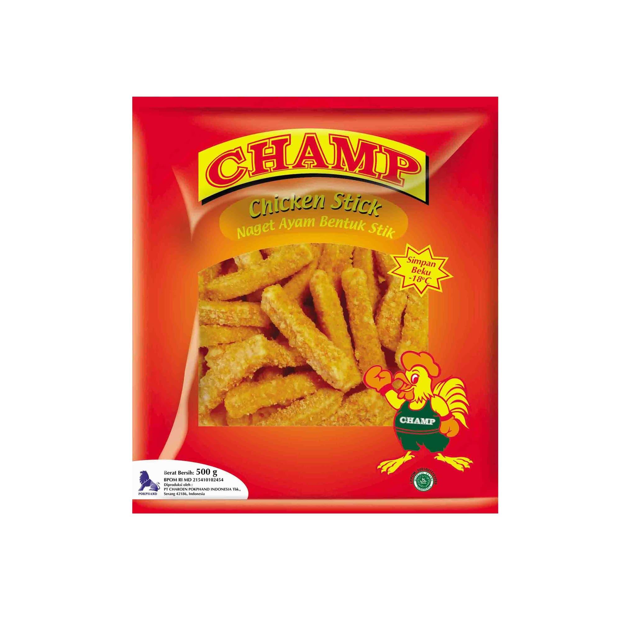 Champ Paket Chicken Stick Makanan Instan 500 G (4 Pcs) - Blanja.com