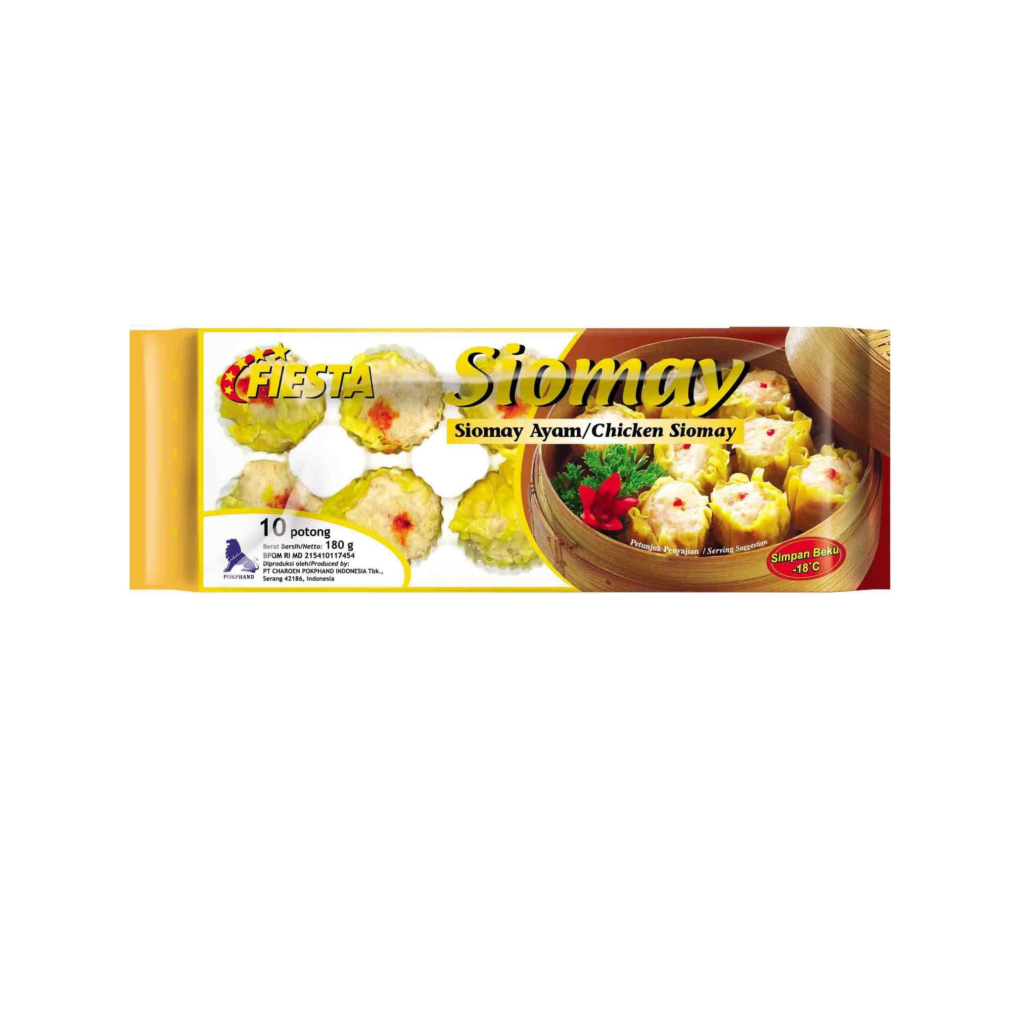 Fiesta Paket Chicken Siomay Makanan Instan 180 G (6 Pcs)