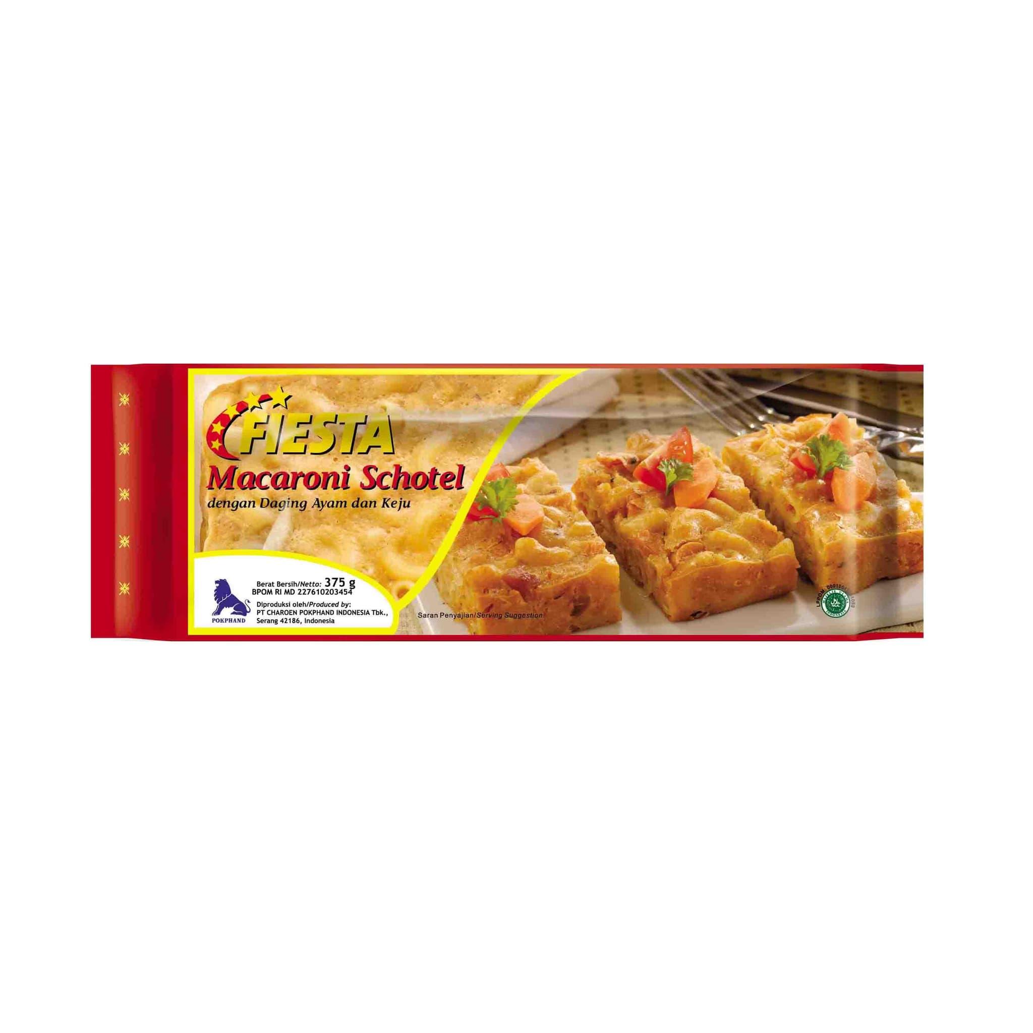 Fiesta Paket Macharony Schotel Makanan Instan 375 G (5 Pcs) - Blanja.com