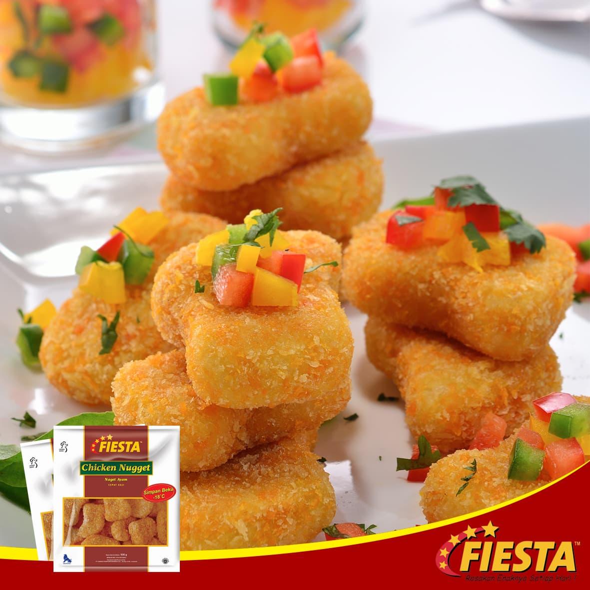 Fiesta Paket Nugget Makanan Instan 500 G (3 Pcs) - Blanja.com