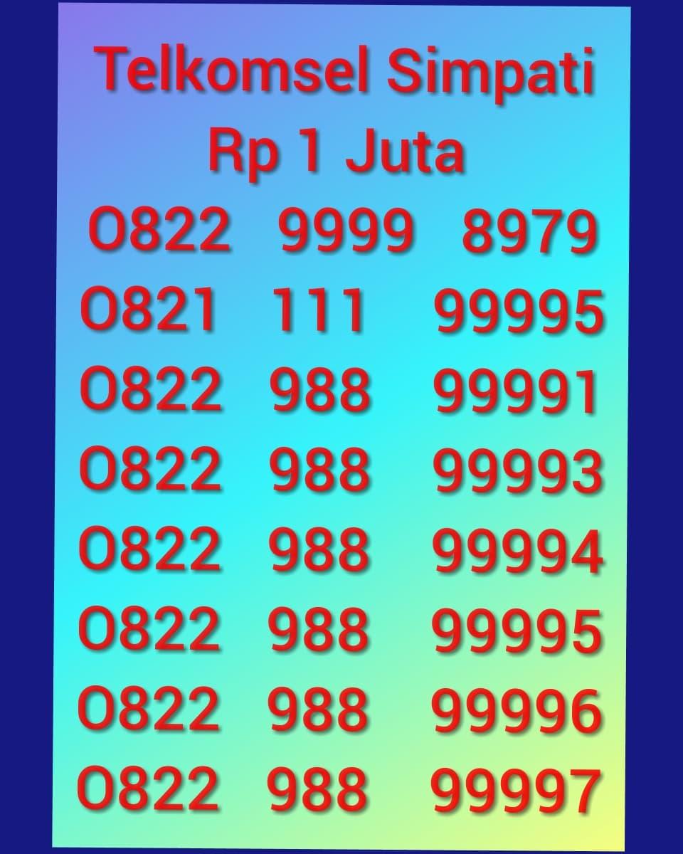 Jual nomor cantik simpati Telkomsel kartu as nomor murah. Source. ' 28491331_3de1345a-3371
