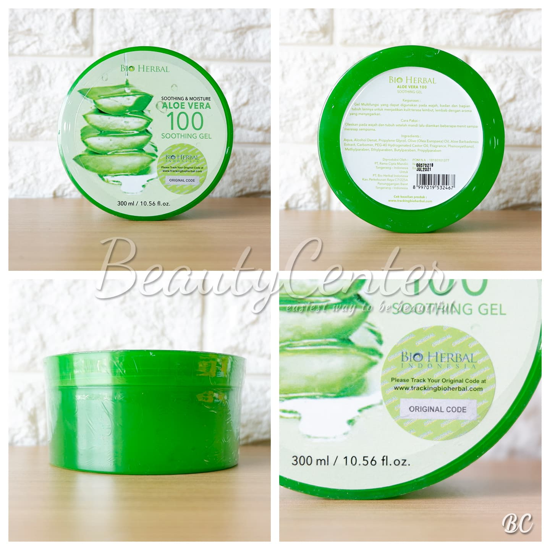 Jual [Bio Herbal] Aloevera Soothing Gel Original dan BPOM Beauty
