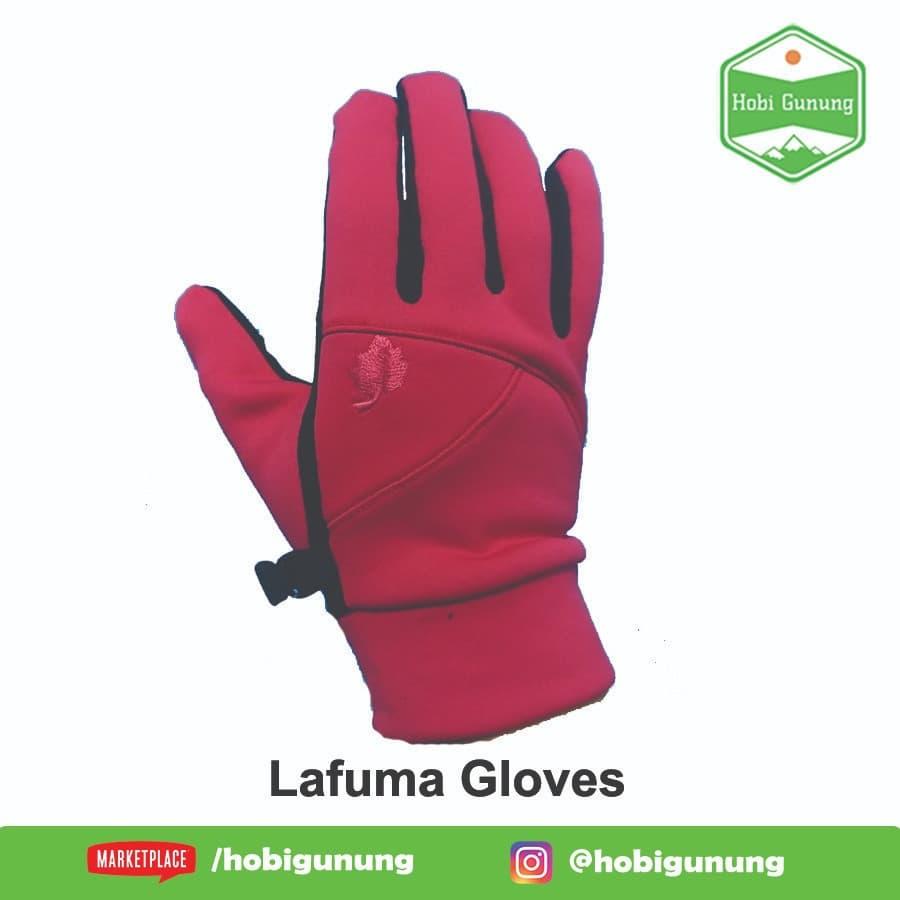 Lafuma Gloves Sarung Tangan Polar Windproof Anti Dingin Access Glove - Blanja.com