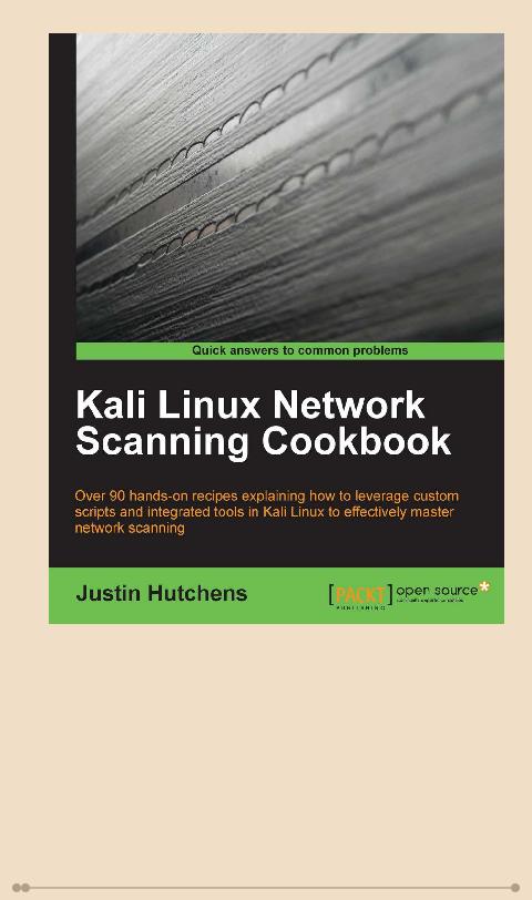 Jual Kali Linux Network Scanning Cookbook Ebook Ebookstore