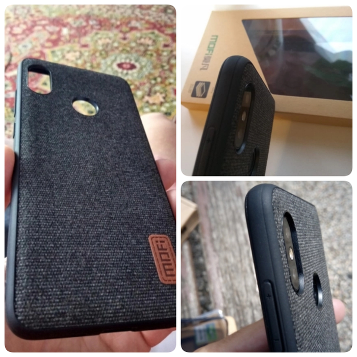 factory authentic 3d0c9 02a8c Jual MOFI Xiaomi Redmi Note 5 Pro Case MOFI Fabric ORIGINAL Premium TPU - C  - Cokelat Tua - Kota Tangerang - Jenna-Jenna | Tokopedia