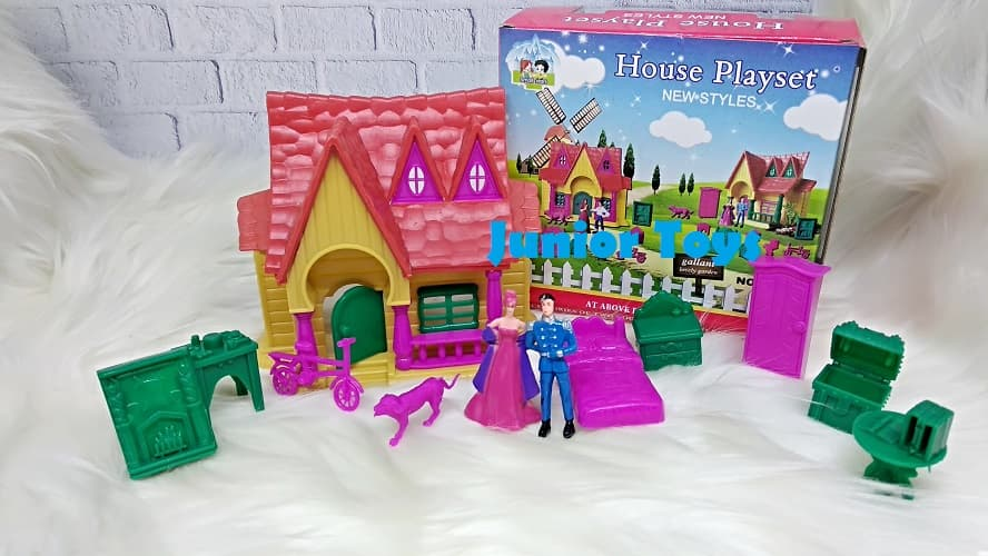 Jual Mainan Rumah - Rumahan Boneka House Playset  50199e64af