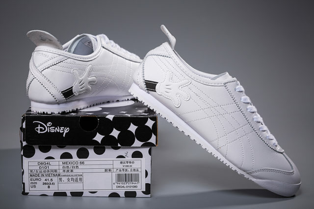 sale retailer 42f32 2f56f Jual Asics Onitsuka Tiger Mexico 66 Mickey Mouse White ...