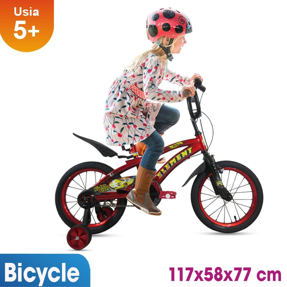 harga Sepeda Anak 16 Inch Rmb Mobil Merah Blanja.com