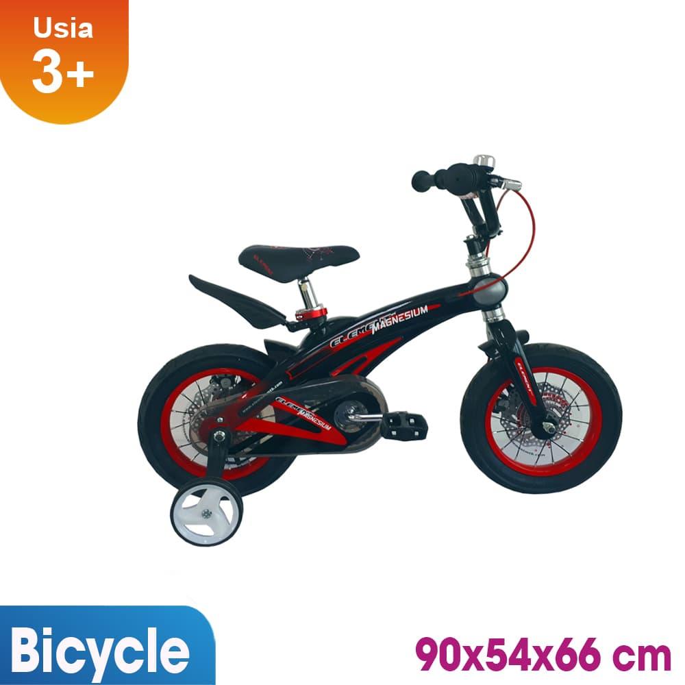 harga Sepeda Anak 12 Inch Rmb Magnesium Hitam Merah Blanja.com