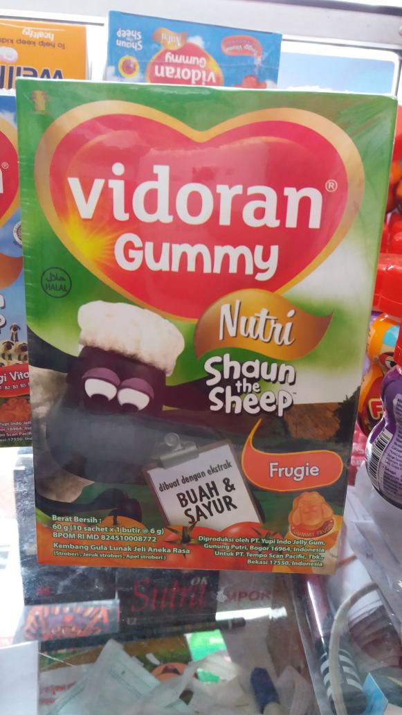 VIDORAN GUMMY BUAH DAN SAYUR