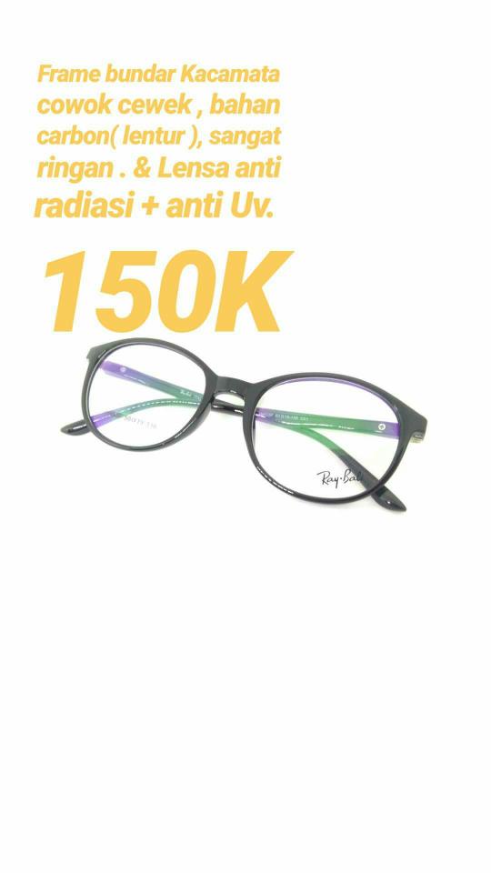 Jual Frame bundar kacamata minus anti radiasi RAY.BALI berkualitas ... 837b630a46