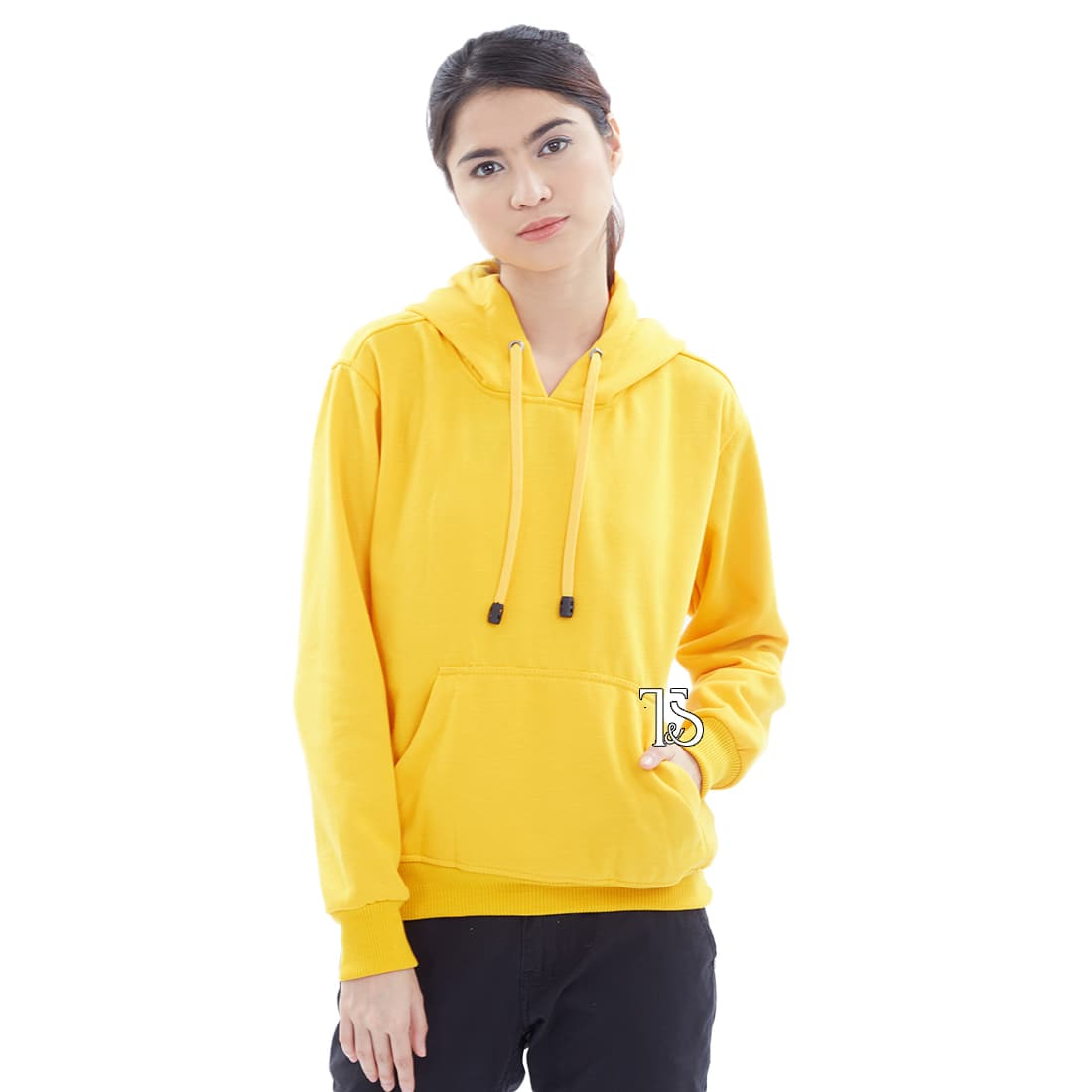 Jual Jaket Hoodie Jumper Kuning Polos Wanita M Xl Bajukitaindo Sweater Biru Turkis Tokopedia